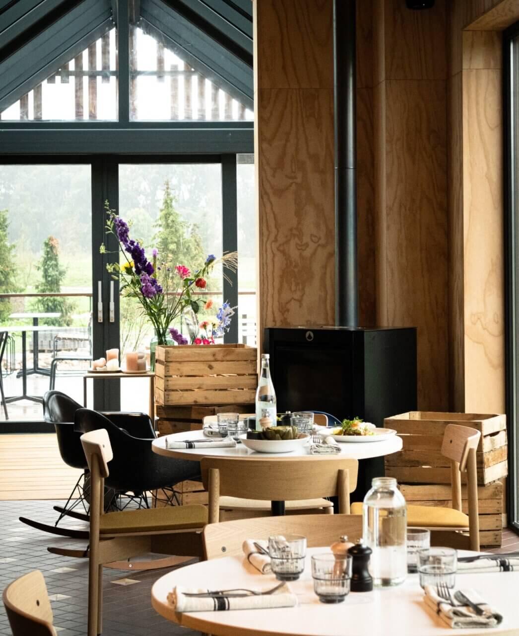 The Unbound Restaurant  interior